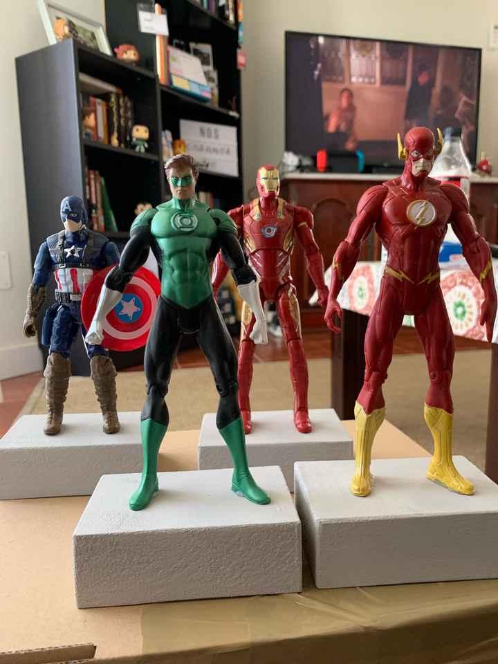 Boda superhéroes: ¡parte de la decoración! - 1