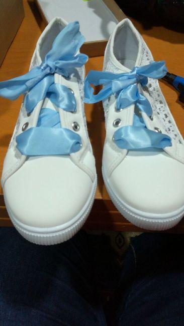 Alguna de vosotras se pondría zapatillas?? - 1