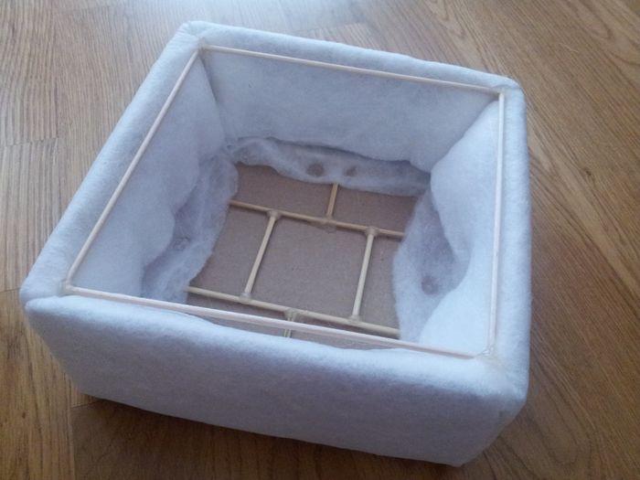 caja con los 4 laterales