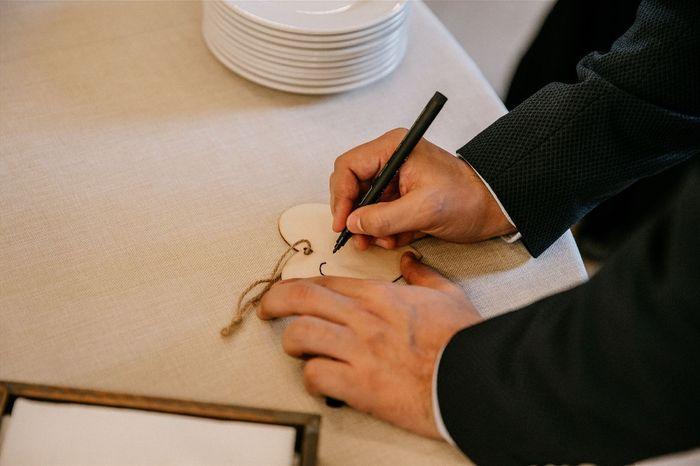 Nuestra boda invernal: El No-libro de firmas 🌲 4