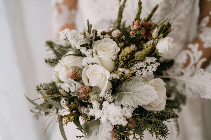 Flores para ramo de invierno - 1