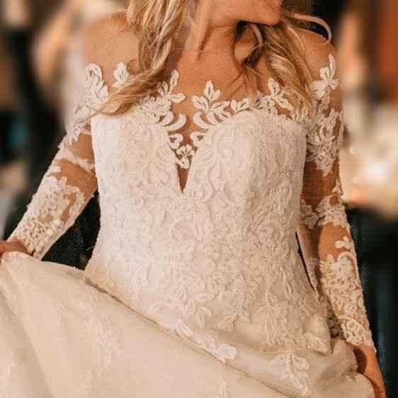 Inspo: Vestidos de novia con manga 👗 - 1