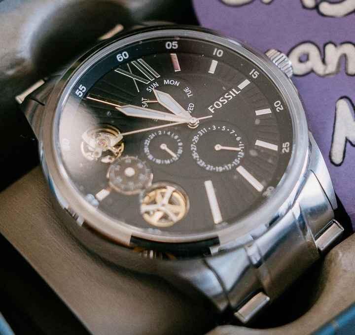 Reloj para la boda en hombre - 1