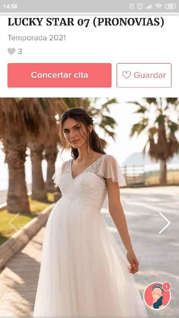 Vestido boda embarazada baratito - 2