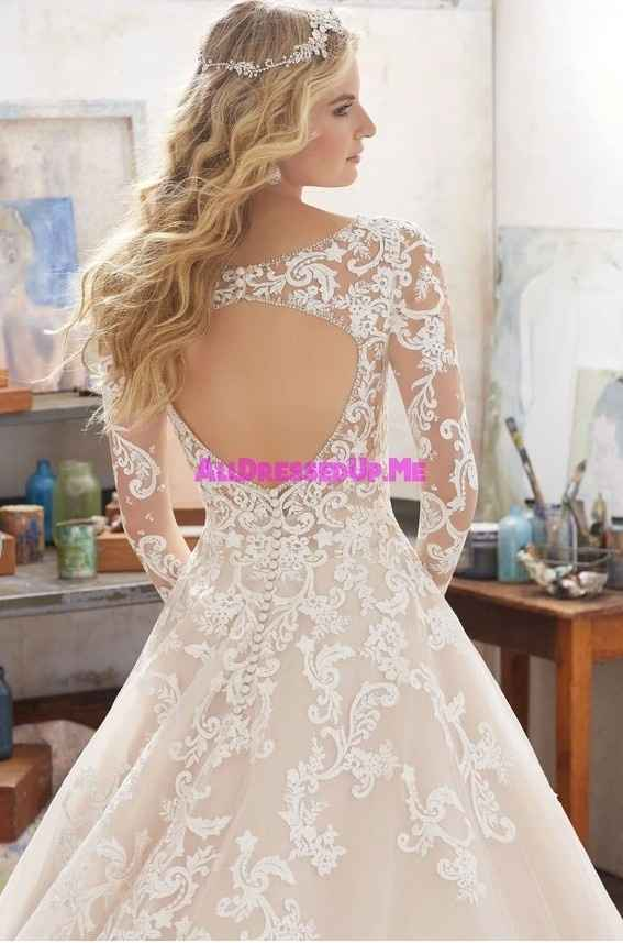 Vestido de novia de color...? - 2