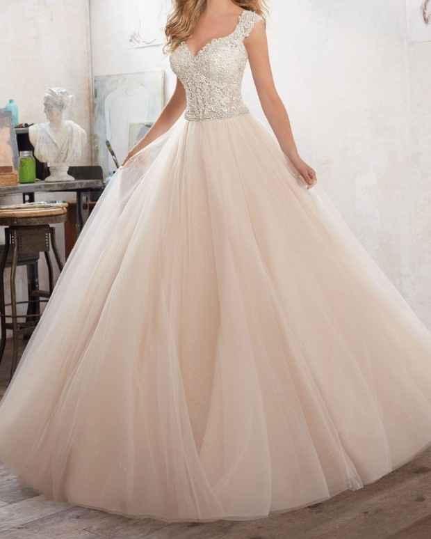 Vestido de novia de color...? - 3