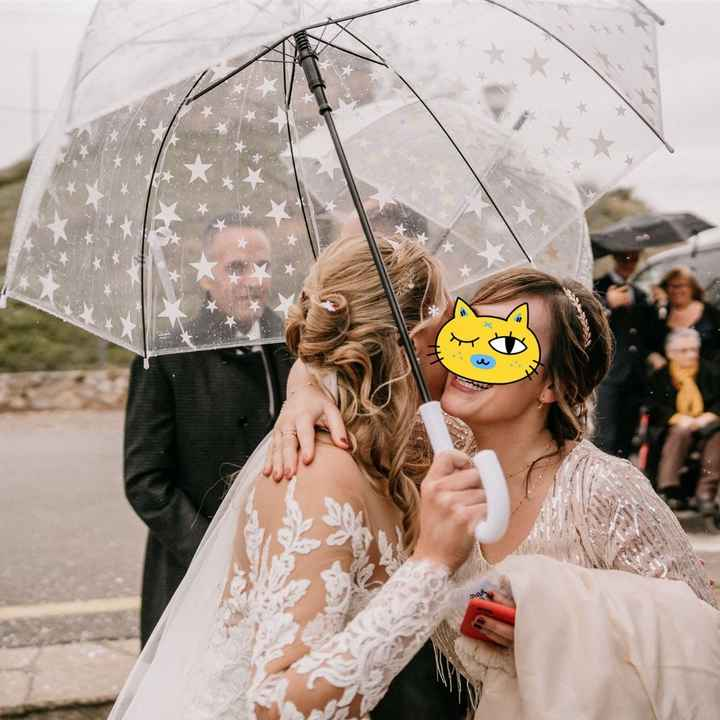 ¿Paraguas por si acaso o pasando? - 1