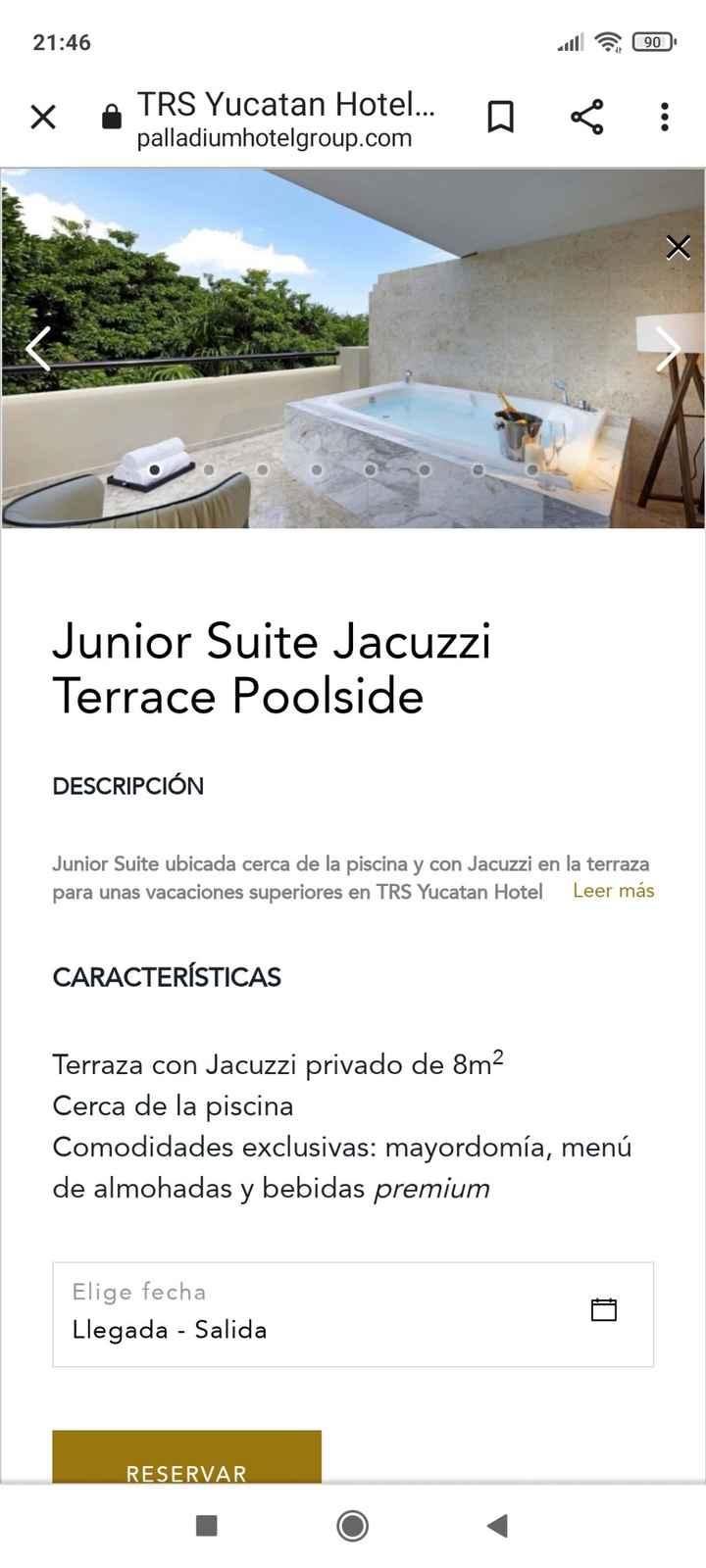 Tipos de habitaciones trs Yucatán - 1