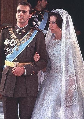 Vestidos de fiesta de la realeza europea