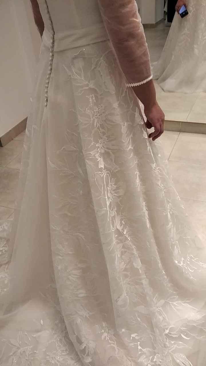 ¿Qué te parecen las mangas de este vestido? 2