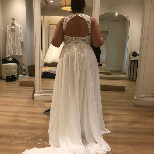 ¿Cómo es la espalda de tu vestido? 7