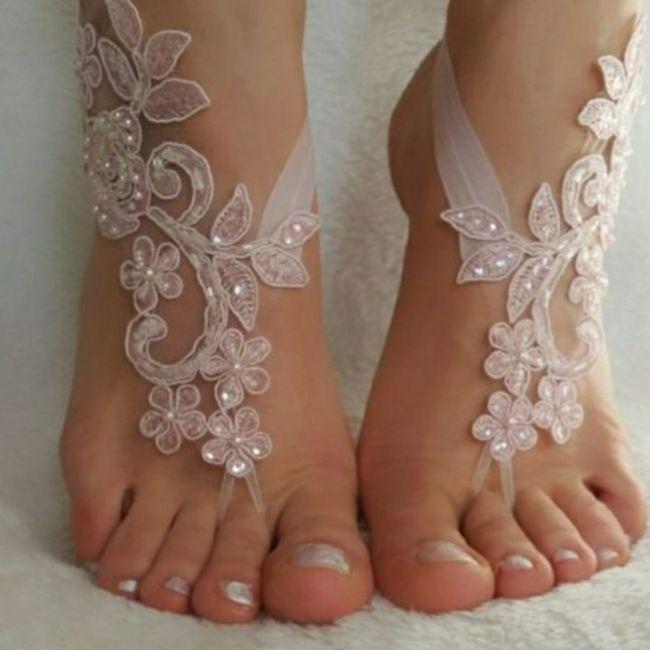 Descalza o con zapatos?? 1