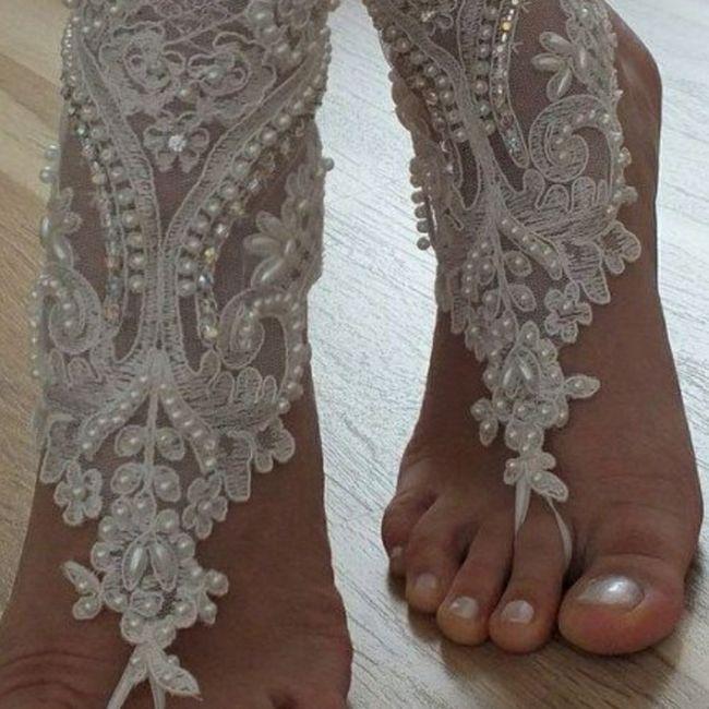 Descalza o con zapatos?? 2