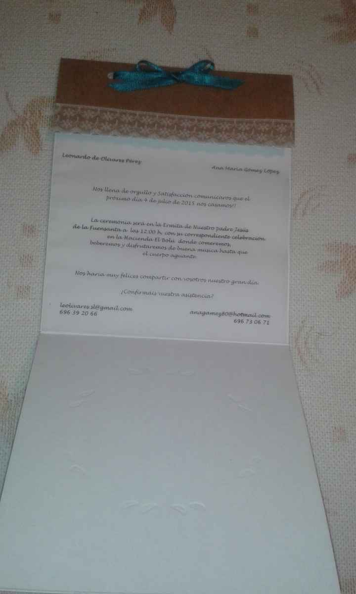 Mis invitaciones diy - 1