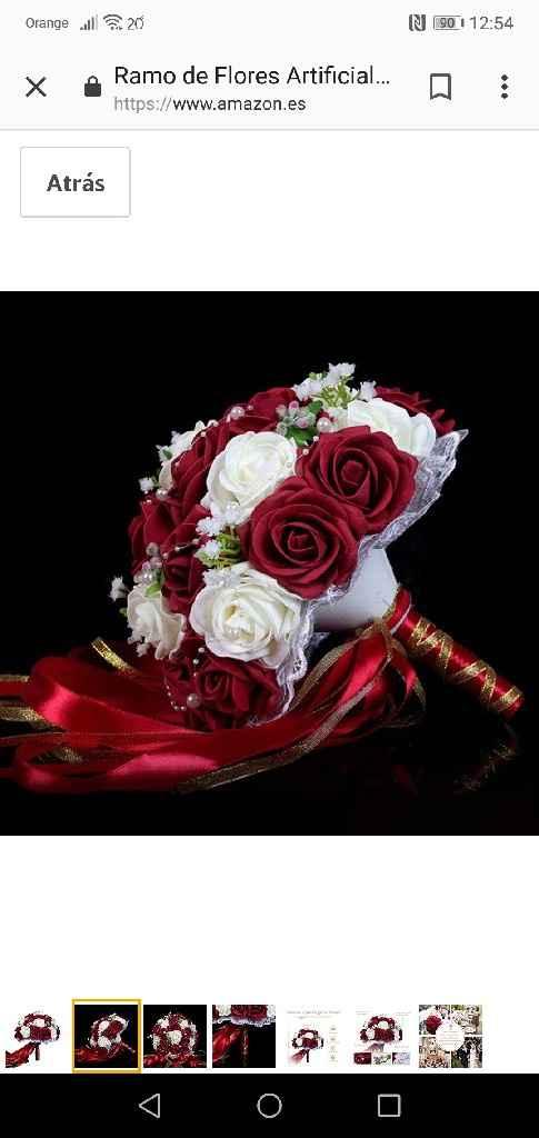 Ramo bouquet o con caída??? - 1