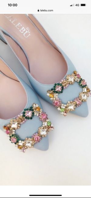 Que tipo de zapatos os vais a poner el día de vuestra Boda? 1