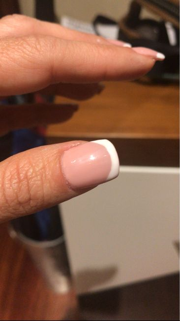 Mis uñas porcelana - 2