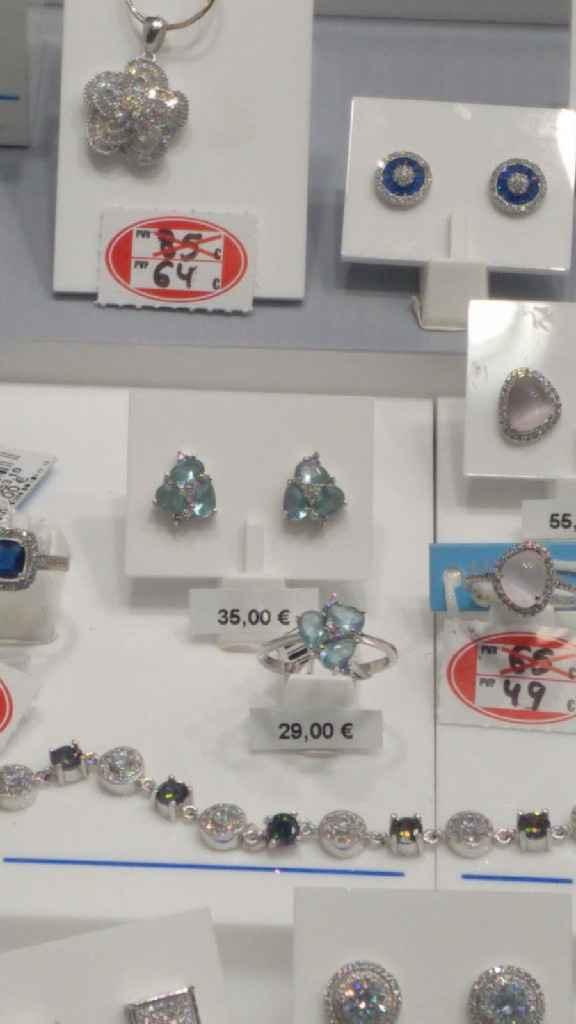 Pendientes azules - 1