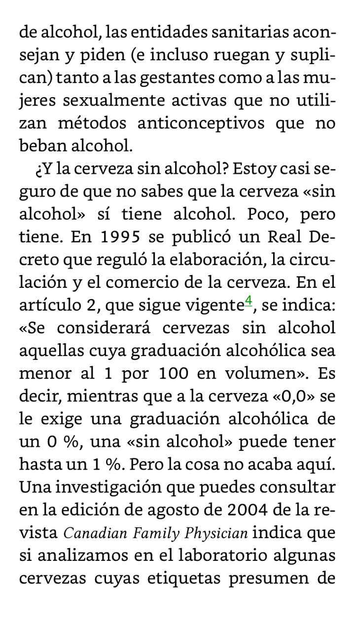 Alcohol y embarazo 1