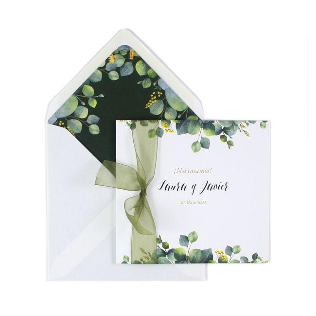 Invitaciones de boda: ¿originales o tradicionales? - 1