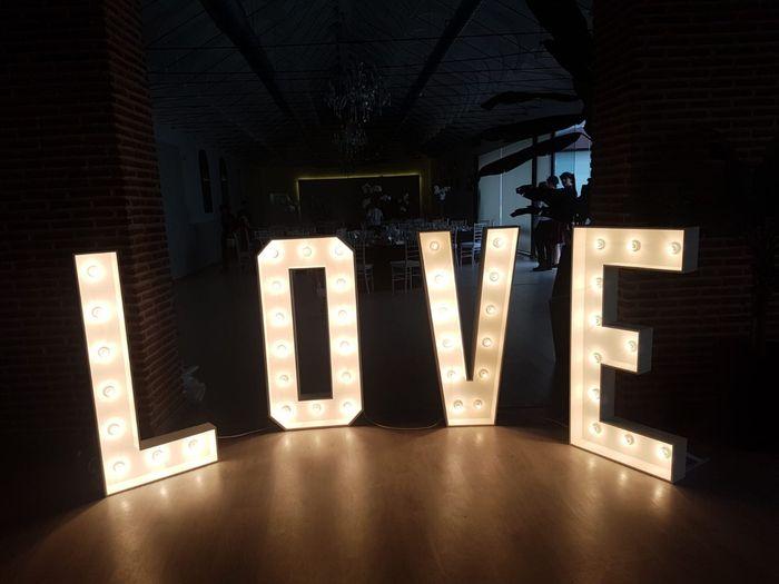 Letras love - 2