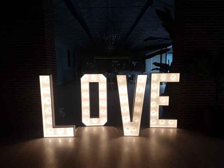 Letras love - 1