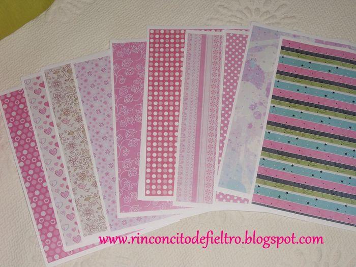 Papel decorativo de craftingeek imprimir imagui for Fotos de papel decorativo