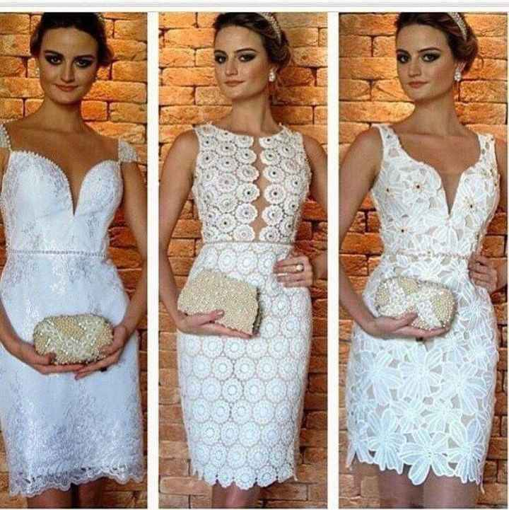 Vestidos para boda civil. - 3