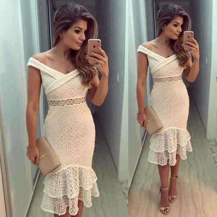 Vestidos para boda civil. - 5
