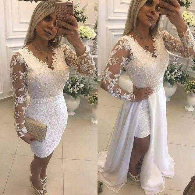 Vestidos para boda civil. - 8