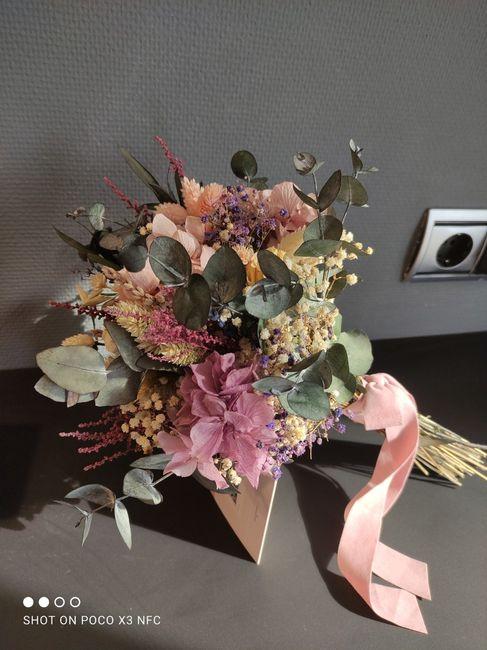 Ramo de flores preservadas 4