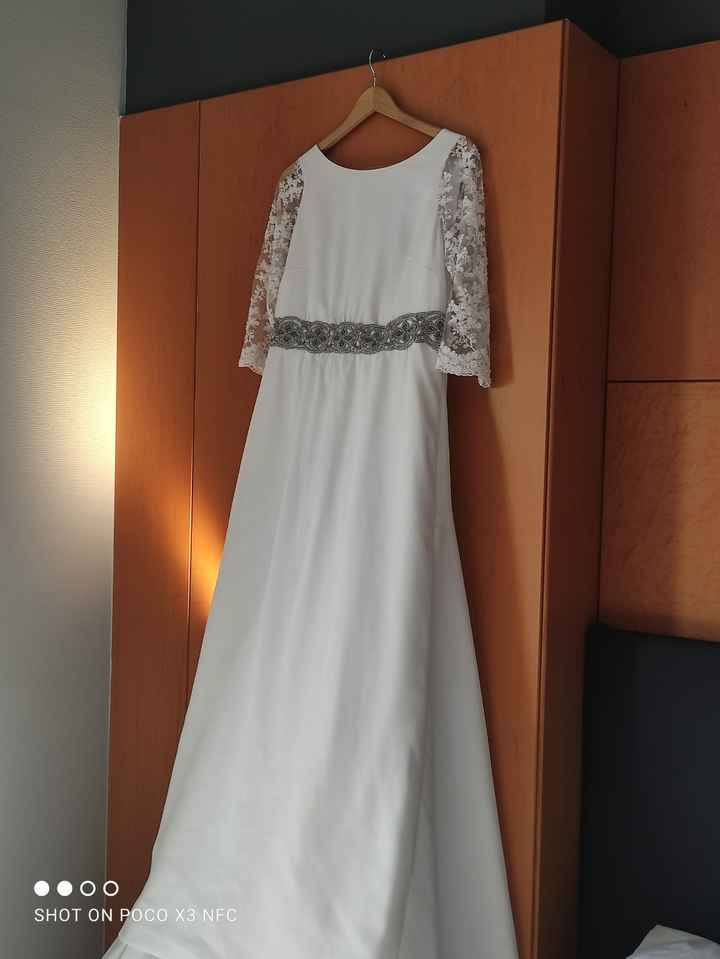 Tela para vestido de novia - 1