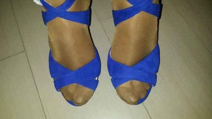 Zapatos azules! que os parecen? - 1