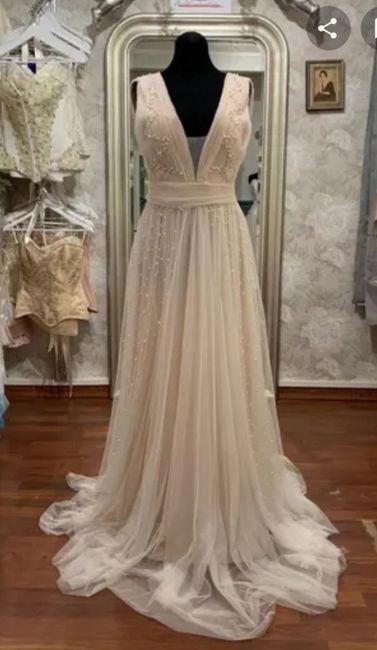 Segunda boda y duda de color del vestido - 2