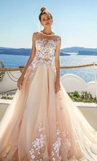 Segunda boda y duda de color del vestido - 3