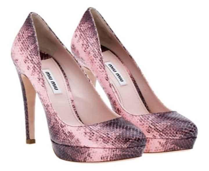 Zapatos de novia en rosa - 3