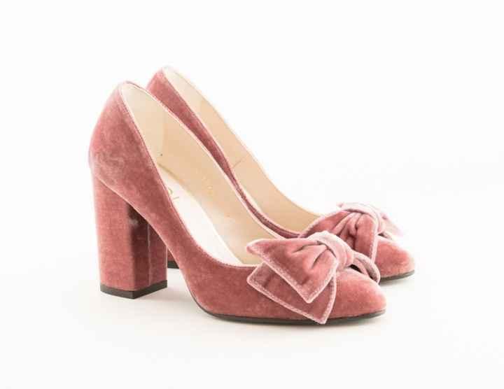 Zapatos de novia en rosa - 4
