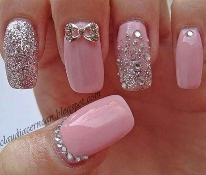 Uñas en rosa 1