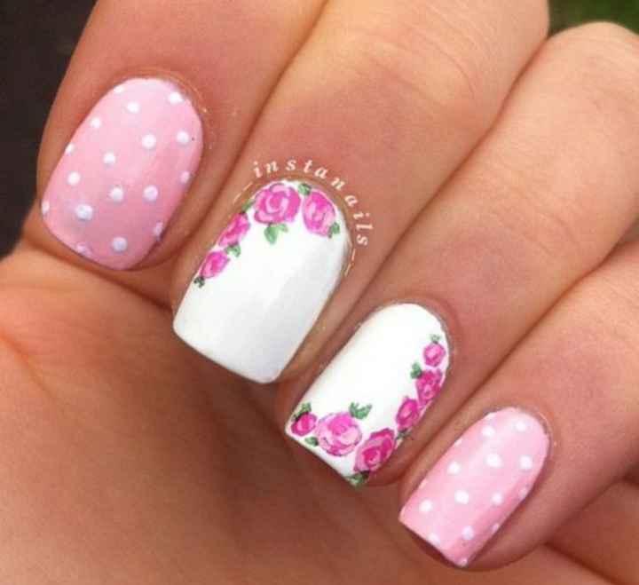 Uñas en rosa 3