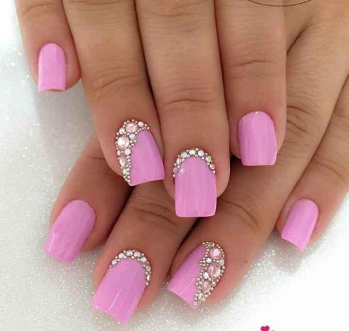 Uñas en rosa 4