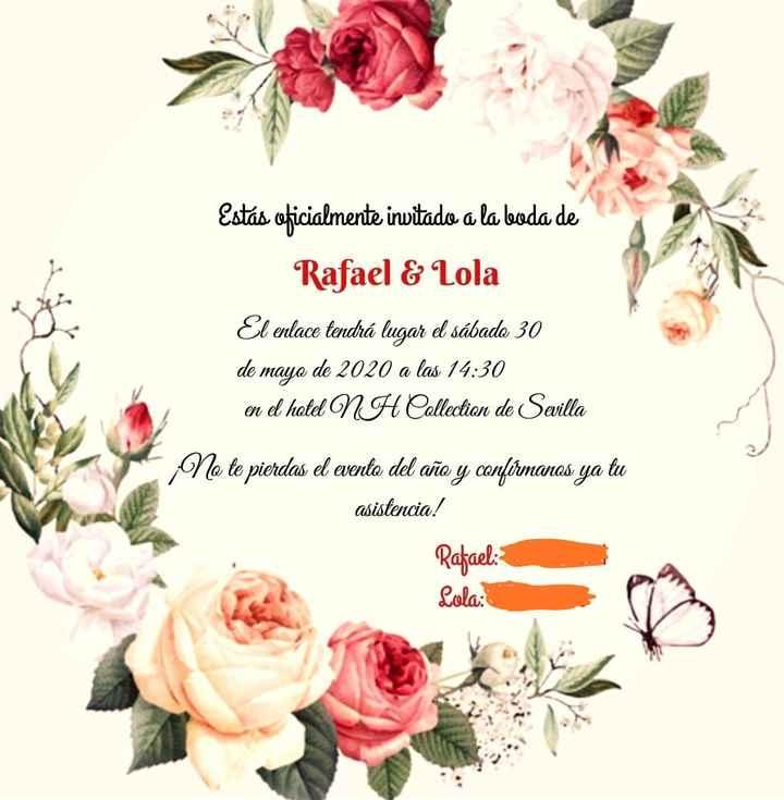 Invitaciones 5