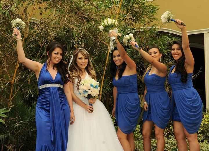 Mis damas de honor