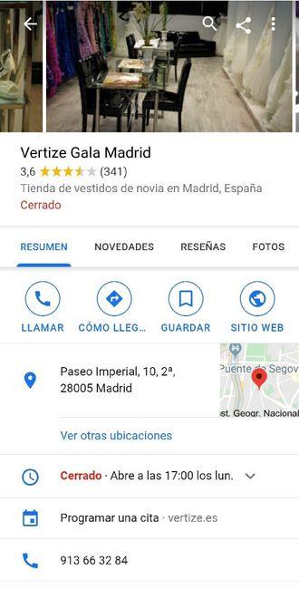 Trajes de novia baratos en Madrid - 1