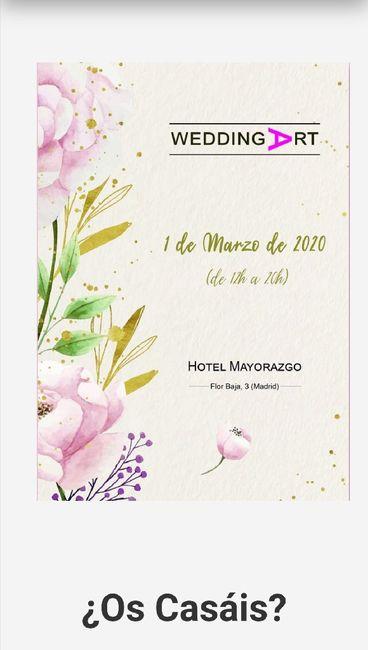 Ferias de boda 2020 Madrid - 1