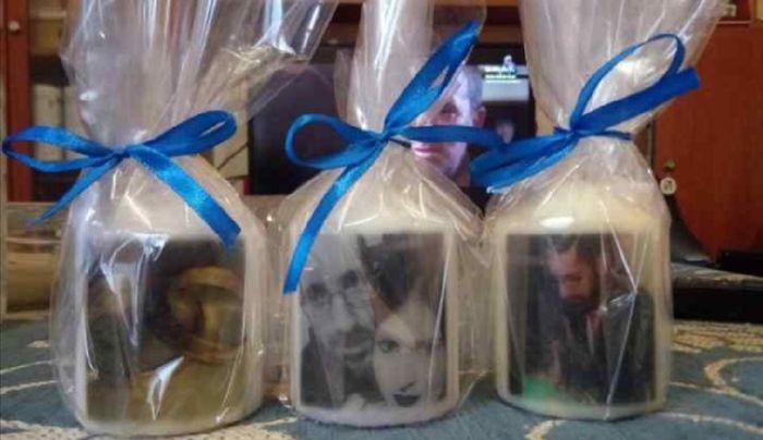 Velas y copas personalizadas - 1