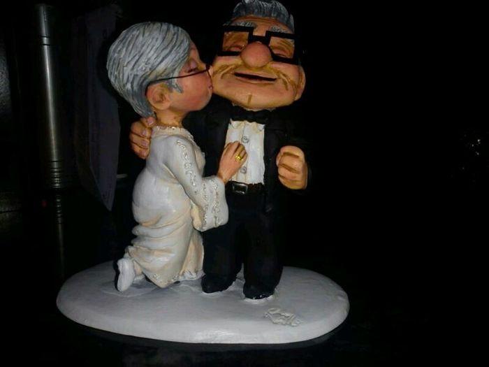 mis muñecos de tarta