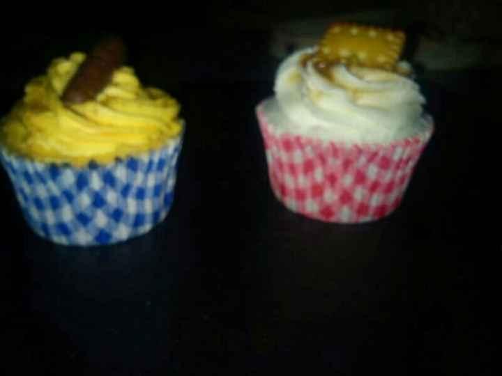 aquí unos cupcakes que hace una amiga