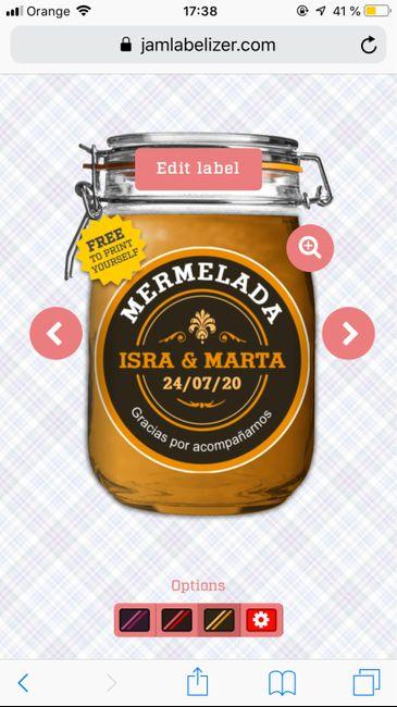 Pegatinas personalizadas para mermelada (o lo que sea!) 1