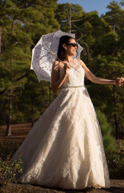 Te casaste con un modelo de pronovias? 8