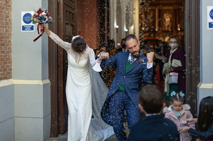 Novios que nos casamos el 31 de Octubre de 2020 en Madrid 3